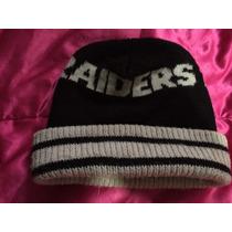Gorro Raiders Nfl Unitalla