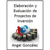 Elaboración Y Evaluación De Proyectos De Inversión