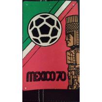 3 Postales Del Mundial Mexico 70