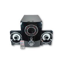Sistema De Bocinas 2.1 Con Subwoofer Usb Sd Radio Auxiliar