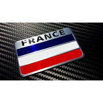 Emblema Bandera Francia Renult Peugot Autoadherible