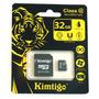 Memoria Micro Sd 32 Gb Clase 10 Kimtigo Adaptador Sd Celular