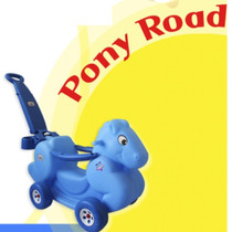 004 - Montables; Ponyroad Ideal Para Bebes