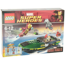 Lego Marvel Super Heroes Iron Man Modelo 76006