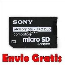 $ 50 Adaptador Pro Duo A Micro Sd En Mexicali