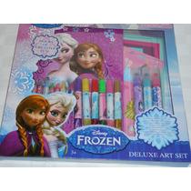 Set De Arte De Lujo Frozen Anna, Elsa Y Olaf