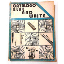 Catalogo De Dibujo Y Arte Blue And White