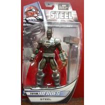 Steel Superman Dc Direct Total Heroes Ugo