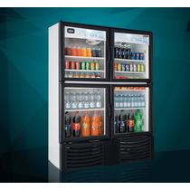 Refrigerador De Exhibición 42 Pies Cúbicos, 4 Puertas