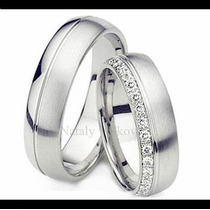 Argollas De Matrimonio Mod. Rochelle Oro 10k Matrimoniales