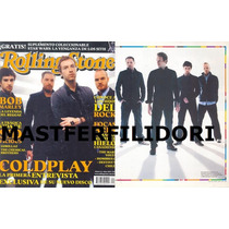 Coldplay Chris Martin Revista Rolling Stone Mexico #31 2005