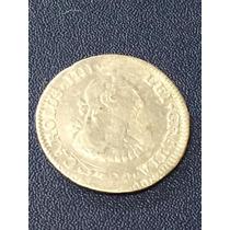 1/2 Real Carlos Iiii Fecha 1790 Ceca Mo Plata Ley 0.902