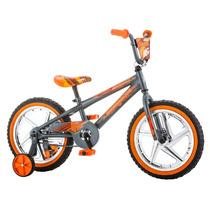 Bicicleta Infantil Niño Bike Mongoose Rodada 16 Gris