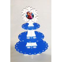Base Mdf Decora Fiesta Frozen Copo Nieve Cupcake Mesa Dulces