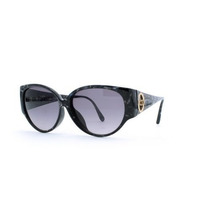 Gafas Christian Dior Black And Blue Authentic Women Vintag