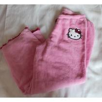 Hello Kitty Pijama Pantalon Dama Polar Talla Grande