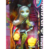 Monster High Muneca Fusion Clawdeen Wolf Y Frankie Stein