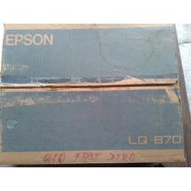 Impresora Epson Lq-870 Matriz Impacto Para Refacciones