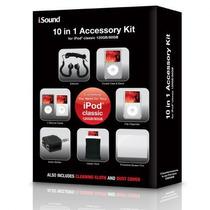 Paquete Kit De Accesorios 10 En 1 For Ipod Classic Atomgames