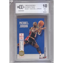 1992-93 Bgs 10 Skybox Olympic Team Michael Jordan Bulls