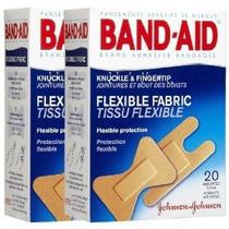 Curita Flexible Tela Adhesiva Vendas Nudillo Del Dedo Y 20 C