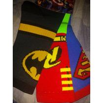 Calcetas Under Armour, Batman, Superman Y Robin Las 3 X 160