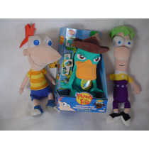 Phineas Y Ferb Y Perry Ornitorrinco Agente P Transformable