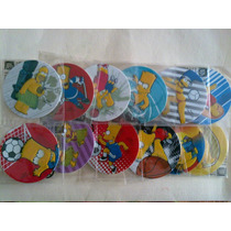 Tazos Flock Simpsons
