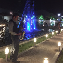 Saxofonista Para Boda Xv Sax En Vivo Dj Audio Luz Sonido