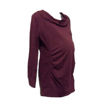 Blusón Sweater D Maternidad Liz Lange T Ch Color Vino Nuevo!