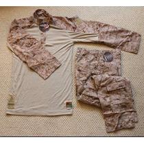 Uniforme Militar Genuino Usmc Frog Marpat Original M