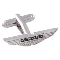 Mancuernillas Aston Martin Logo Automovil Camisa Traje Acero