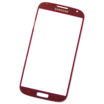 Samsung Galaxy S4 - Refacción Cristal Gorilla Glass Rojo !