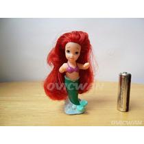 Figura Tiny Ariel La Sirenita 9 Cm Disney Mattel Dy201