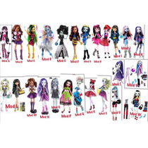 Remate Monster High Gran Surtido Gigi Twila Skelitacatty Fn4