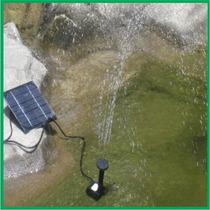 Fuente De Agua Solar Para Jardin Alberca Estanque