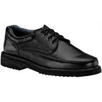 Zapatos La Pag 505 Negro Piel Pv