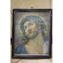 Cuadro Antiguo Cristo Envio Gratis