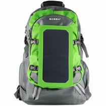 Mochila Bolso Solar Eceen®, Cargador Solar Mochila Con 7 Pan
