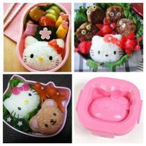 Molde Figura Kitty Onigiri Japón Moda 2014 Repostería Sushi