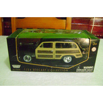 Ford Woody Wagon De 1949 En Escala 1:24 De Motor Max