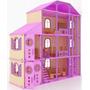 Casa Fantasia Para Mu�ecas Barbie Monster High En Madera Mdf