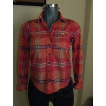 Blusas Hollister Co. T-s Plaid Nueva Orig, Camisa,abrigos