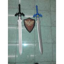 Master Sword Espada De Link The Legend Of Zelda Azul O Negra