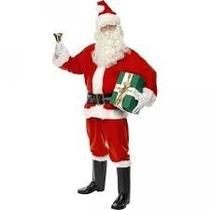 Disfraz De Santa Claus Santa Clos Claos Papa Noel Navidad
