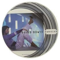 David Bowie - Lote Singles Survive Seven 3 Cd Importado Rock