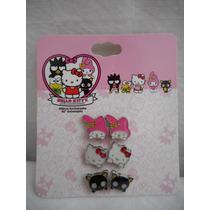 Pares Aretes Hello Kitty 40 Aniversario! Importado