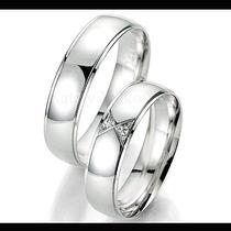 Argollas De Matrimonio De Plata Y Platino Modelos A Elegir