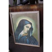 Cuadro Virgen De Los Dolores Antiguo Envio Gratis