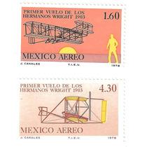 Mexico 1978 Primer Vuelo Hmnos Wright